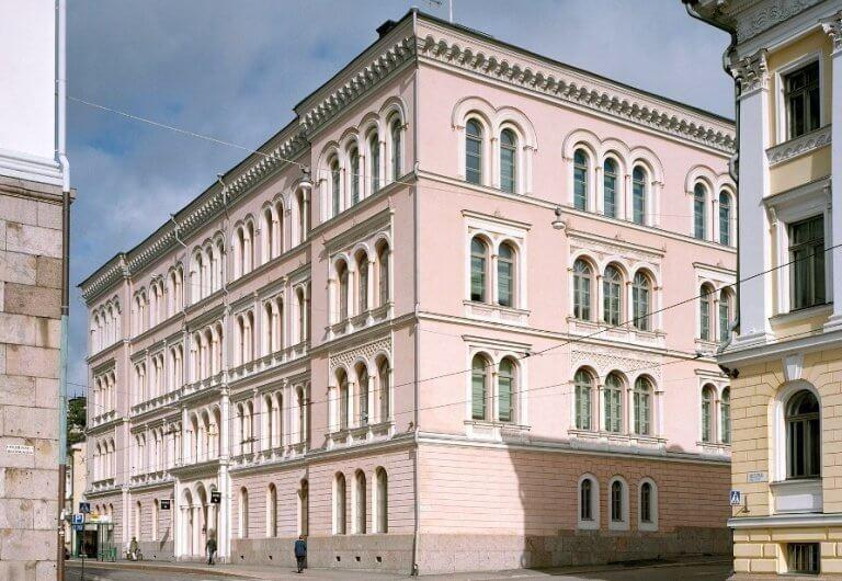 Музей Университета Хельсинки. Современный вид.