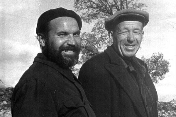 В.Д.Белецкий и Г.П.Гроздилов