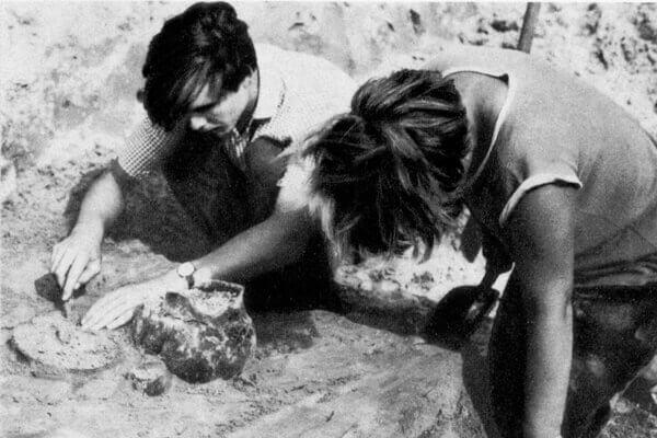 Стоянка Отвержичи. 1968.