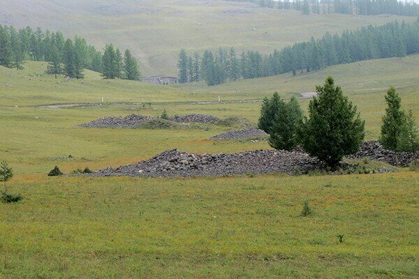 Pazyryk Burial Mounds