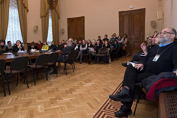 В Зале Совета. 2014