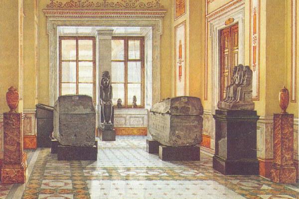 Поступление египетских древностей