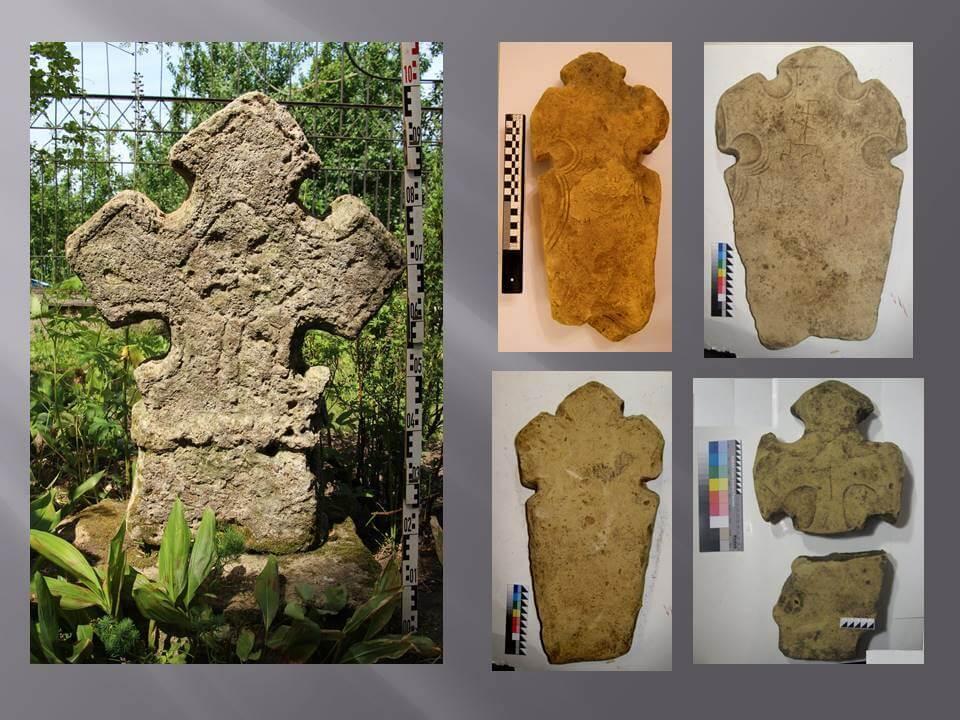Войносоловcкие каменные кресты