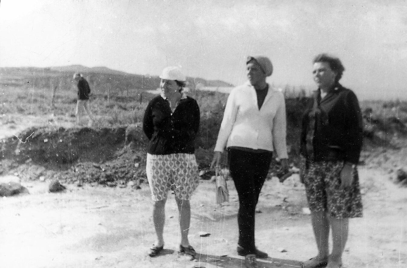 Работы Нимфейской экспедиции (1966-1990)
