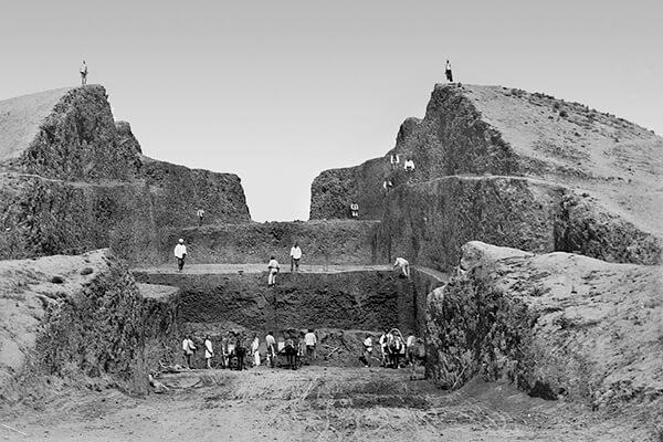 Приобретение ИАК находок из кургана Огуз