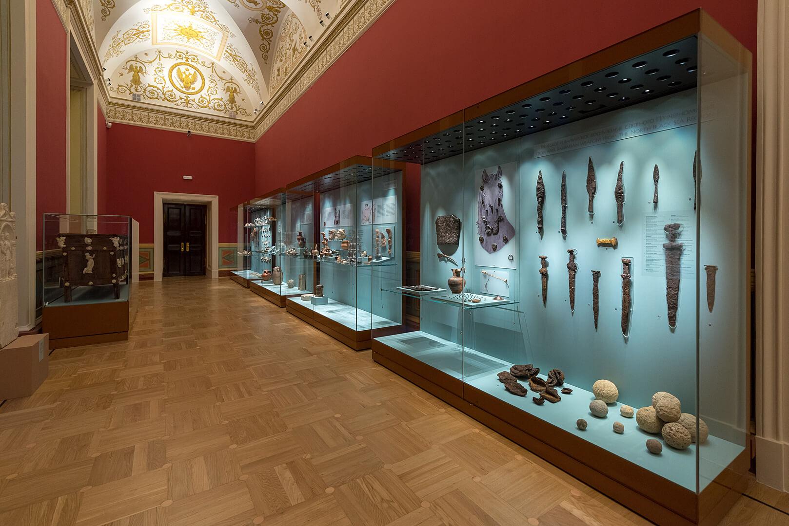 Галерея отдела античного мира