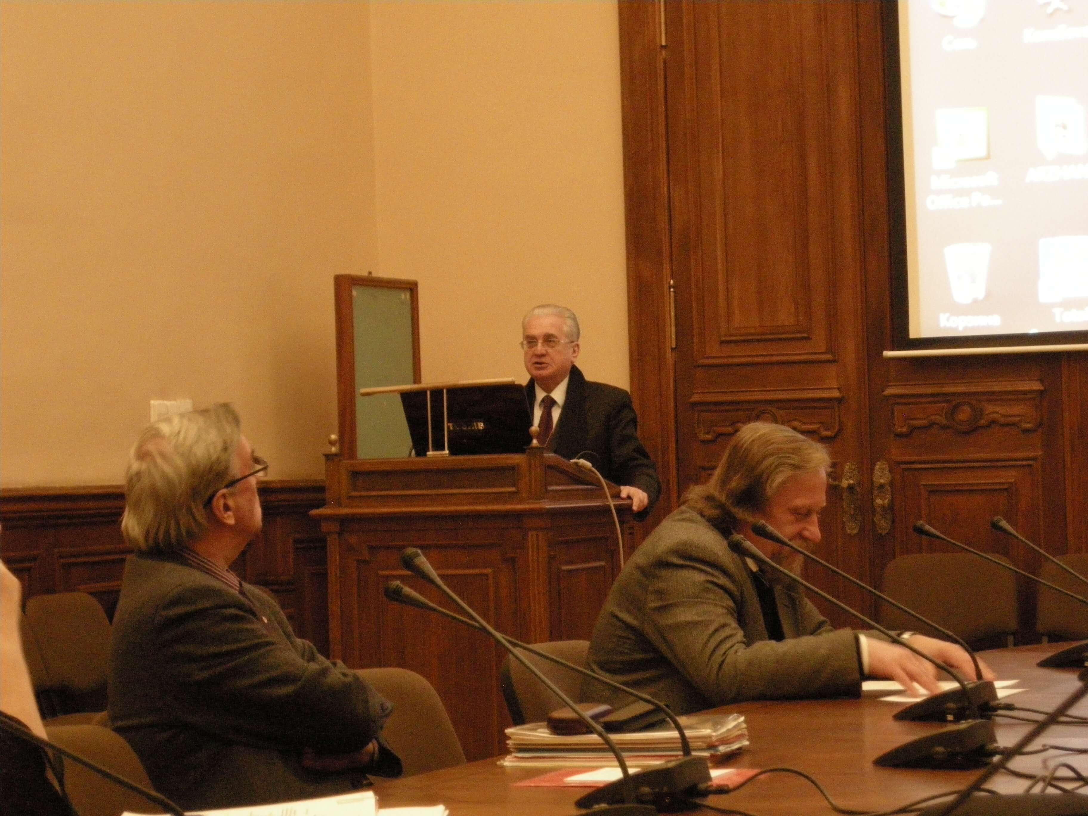 Отчётная археологическая сессия 2010 года